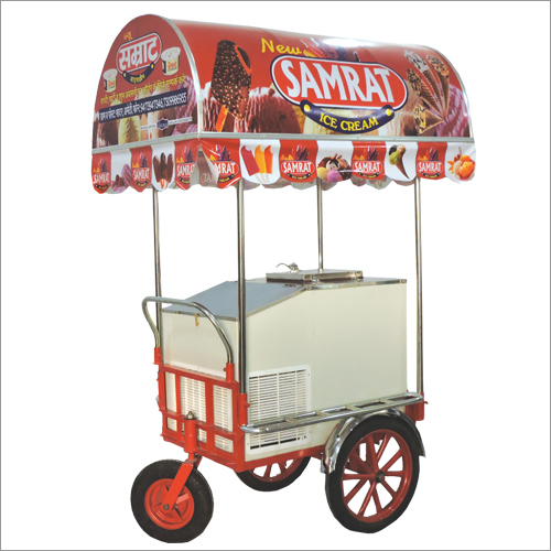 ICE CREAM TROLLEY