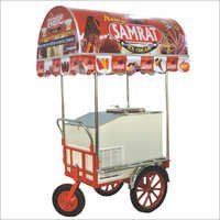 ICE CREAM  Push Cart Trolly