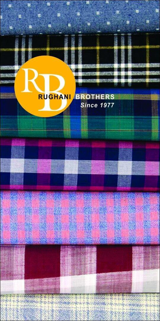 Cotton Yarn Dyed Shirting Fabric