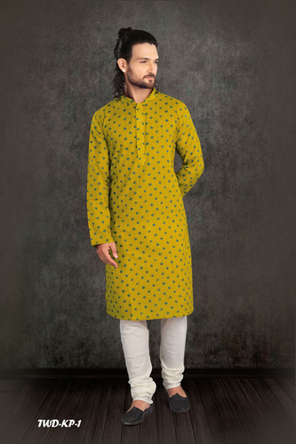 Mens Cotton Kurta Pyjama