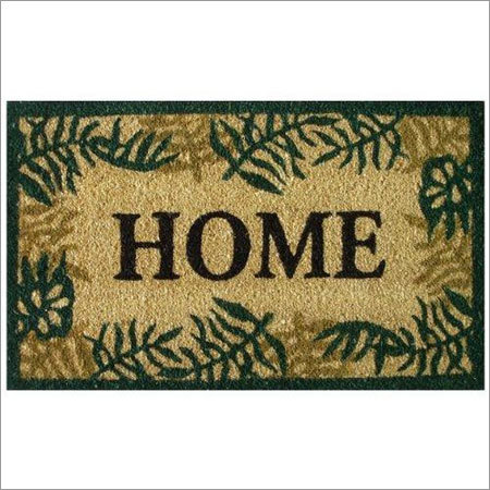 Coir Door Mat Printed