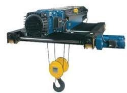 Electric Wire Rope Trolley (Double Hoist)