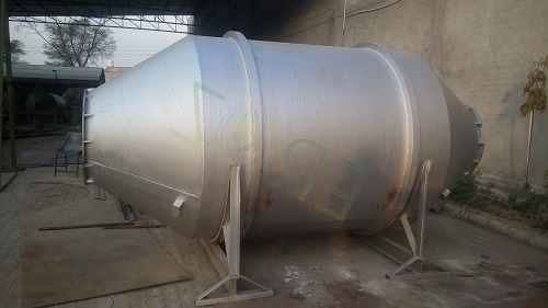 Rotary Furnace Capacity 2 Ton Input For Lead Smelting Plant