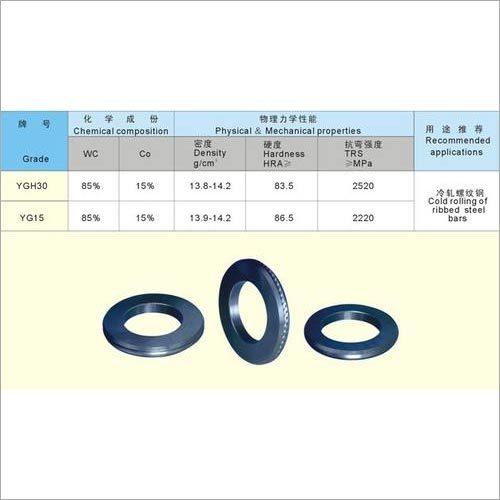 Carbide tridimensional Rolls