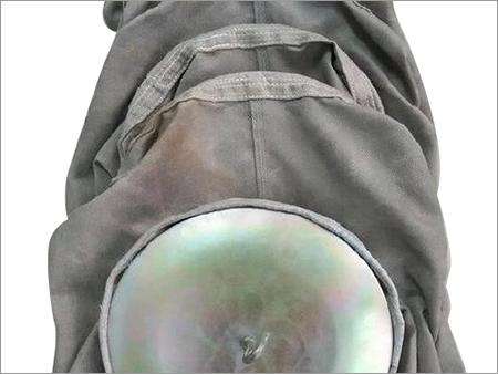 E-glass fiberglass with graphite treated filter bag