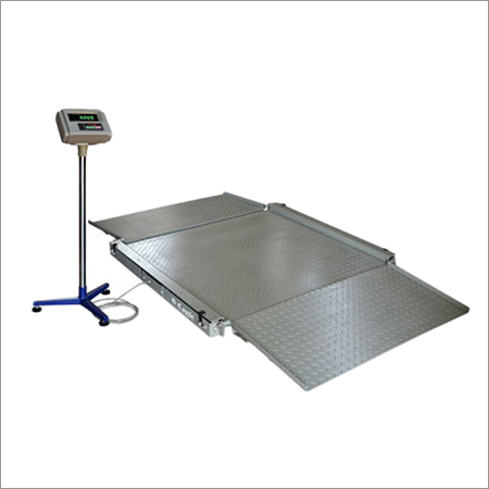Low Profile Platform Weighing Scale