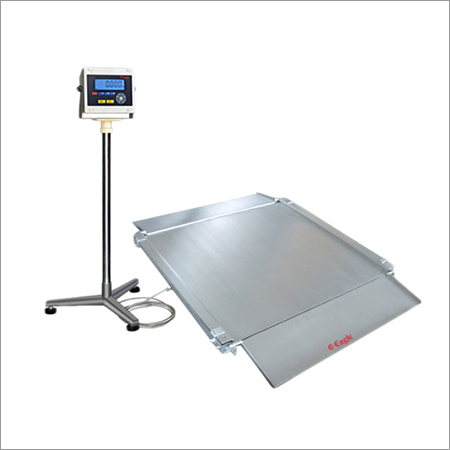 Wash Down Low Profile Platform Weighing Scale