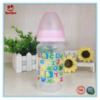 240ml PP Baby Feeding Bottle with Cute Printing