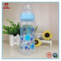 10 Oz Wide Neck Baby Feeding Milk Bottle