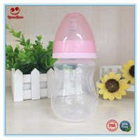 180ml Arc Shape Baby Feeding Bottle in Wide Neck