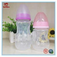 BPA Free PP Baby Milk Bottles with Nipple