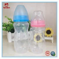 Wide Mouth Infant Baby Nursing Milk Bottles