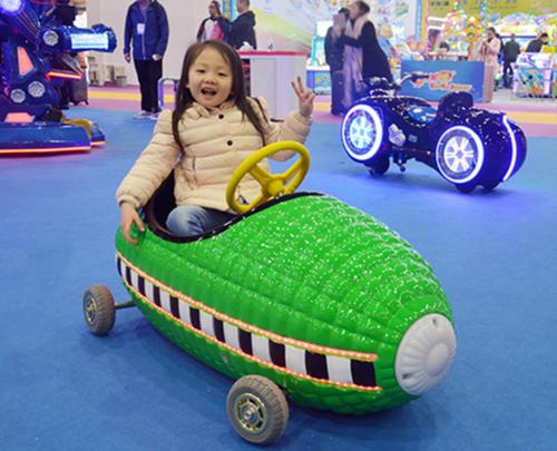 Sweet corn bumper car amusement car
