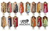 ANOKHI Digital Printed Major Georgette Sarees