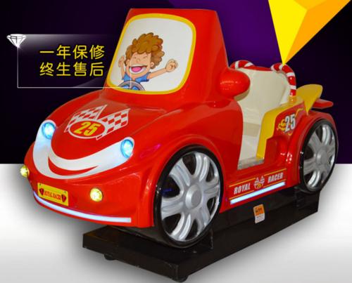 Rocking LCD amusement car
