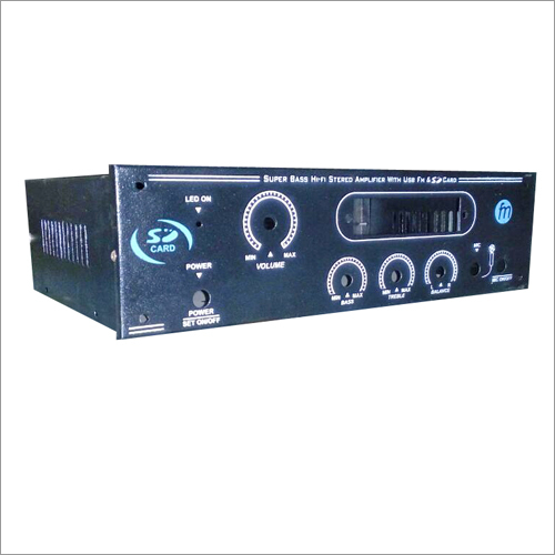 Amplifier Chassis