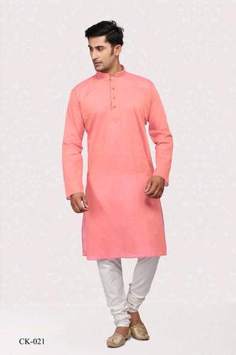 Mens Pure Cotton Kurta Pyjama Set