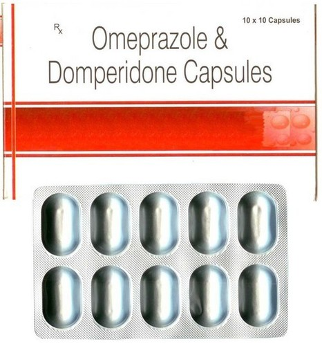 Omeprazole with/without Domeperidone