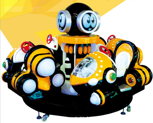 Bumblebee merry-go-round kiddy amusement 4 players