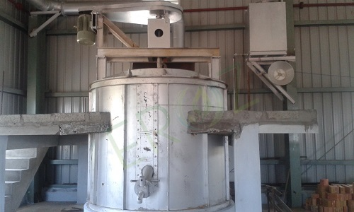Remelting Lead Refining Pot Capacity 5 Ton Per Batch