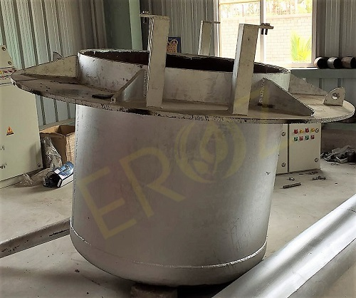Refining Of Molten Lead with 8 Ton Refining Pot / Kettle