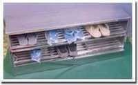 SS Shoe Rack