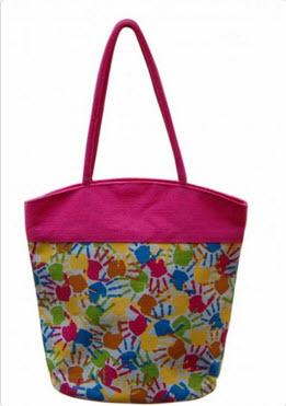 Designer Jute Handbag