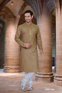 Mens Designer Kurta Churidar Set