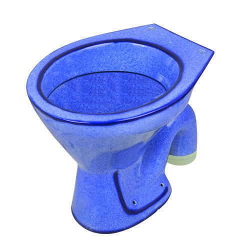 Blue Ceramic Water Closet