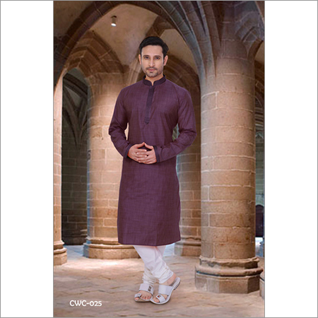 Mens Casual Wear Kurta Pyjama Set