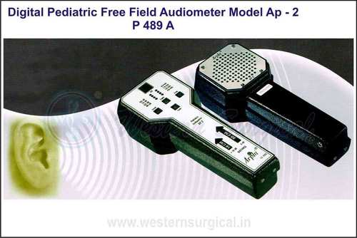 DIGITAL PEDIATRIC FREE FIELD AUDIOMETER MODEL AP - 2