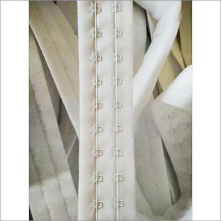 2 Rows continuous nylon bra hook and eye tape