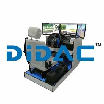 Standard Car Driving Simulator Three Screens
