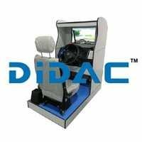 Standard Car Driving Simulator Single Screen