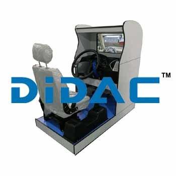 Standard Truck Driving Simulator Single Screen