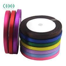 Satin tapes ribbons