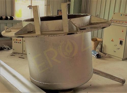 Lead Alloying Pot Capacity 25 Ton for Alloying of Lead