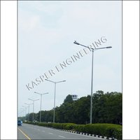 9 Mtr  MS Street Light Poles Manufacturer,Supplier in Uttar