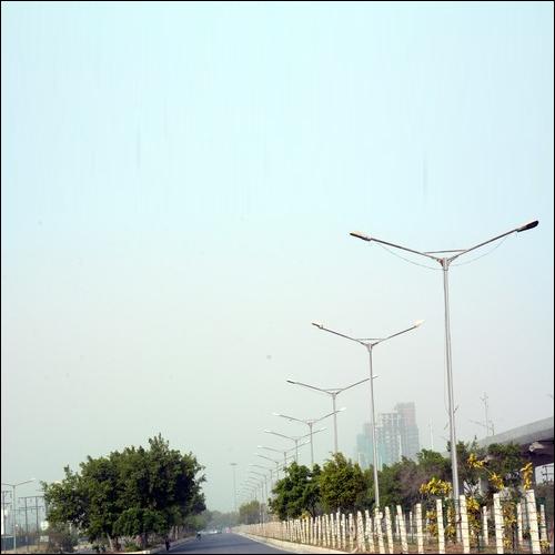 GI Street Light Poles