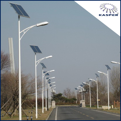 15 ft Solar Street Light Poles