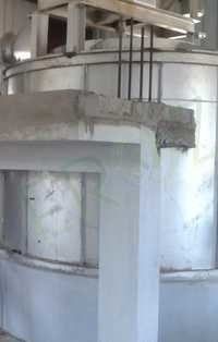Lead Refining Kettle 30 Ton Per Batch