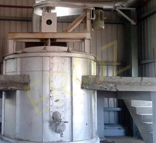 Lead Remelting Kettle 30 Ton Per Batch
