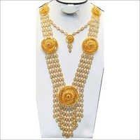 Bridal Long Necklace Set