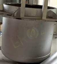 Refining Kettle / Pot Capacity 8 Ton For Remelting