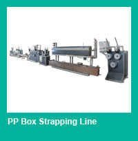 plastic packing strap machine/PP band production line