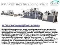 Pet box strapping extrusion plant