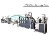 PET packing strap extruding plant