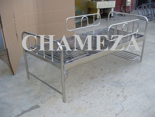 Hospital Stainless Steel Bed