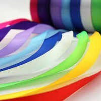multi coloured satin tapes