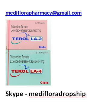 Generic Detrol La (Tolterodine)